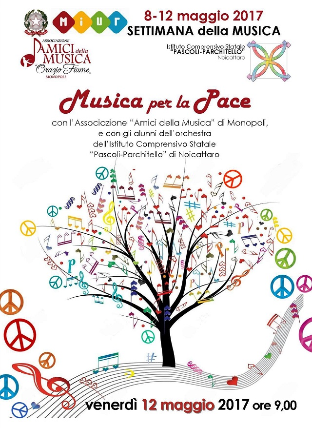 Noicattaro. Festa della Musica alla Pascoli intero