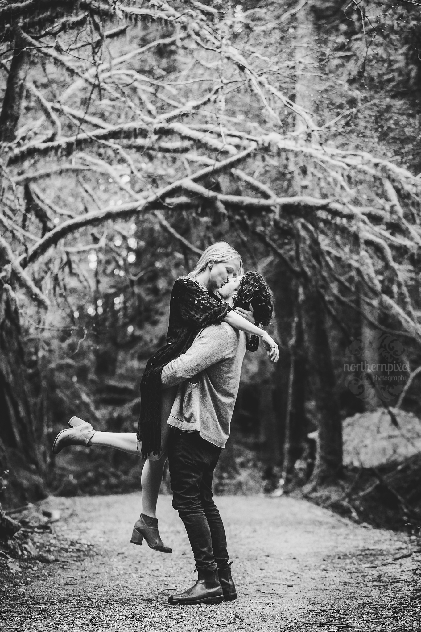 Engagement Session at Golden Ears Park Vancouver BC Elopement