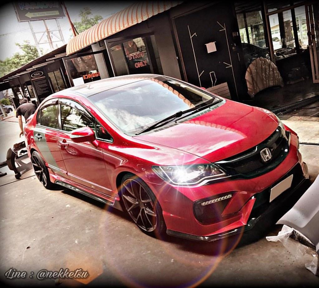 Honda Civic Fd Body Kit Thailand Civic Fd Type X Custom