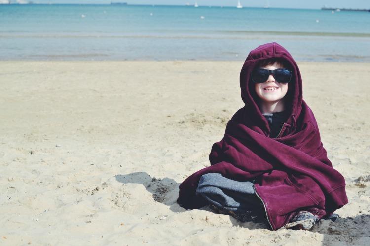 smiles on weymouth beach