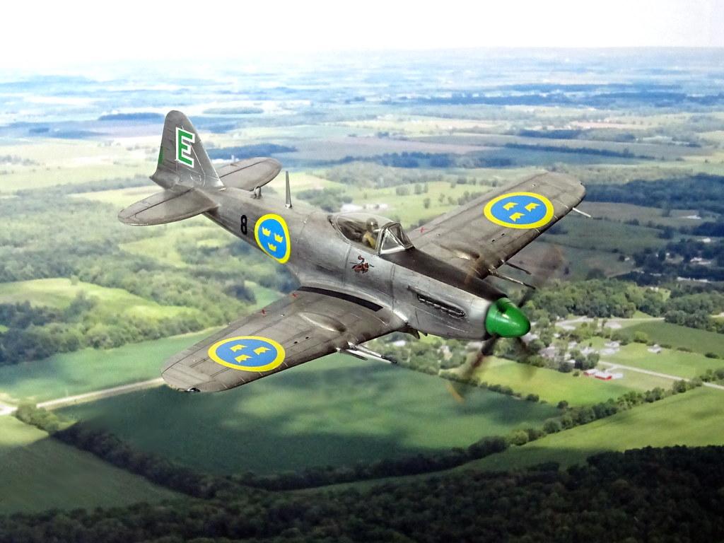 172 Saab J 19D u0027Groen Eriku0027
