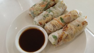 Summer Rolls from Loving Hut