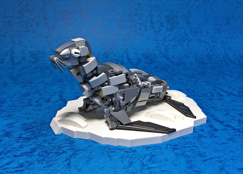 LEGO Mech Fur seal-01 | by ToyForce 120