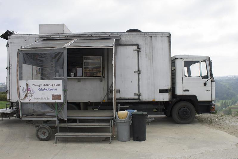 1 Camión chimenea