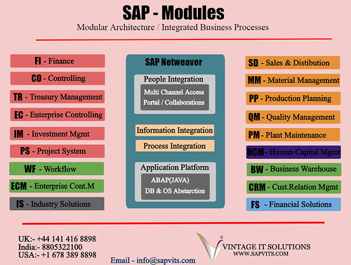 Sap Modules Architecture Find An Opportunity To Take Sap