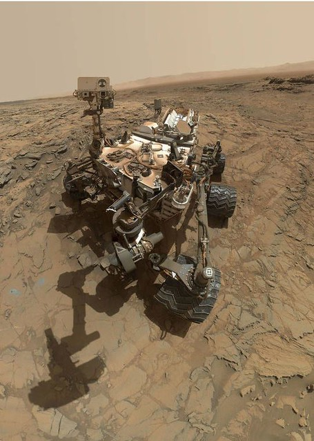 Looking for clues for past life on Mars