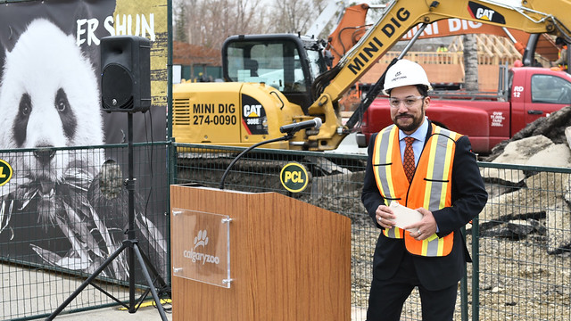 Construction begins on Calgary Zoo panda passage exhibit
