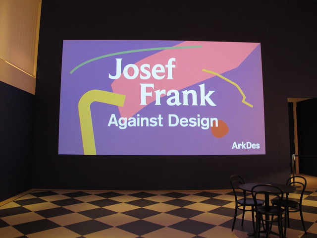 friday, arkdes, exhibition with josef frank, stockholm