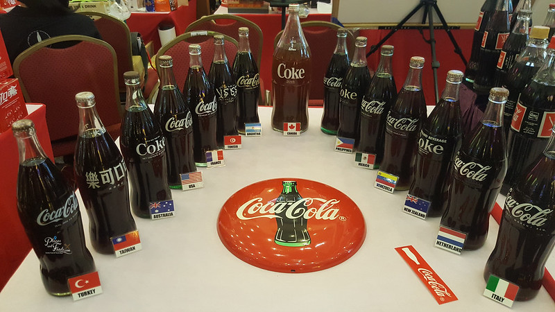 coca cola collectors fair 2017 bottles