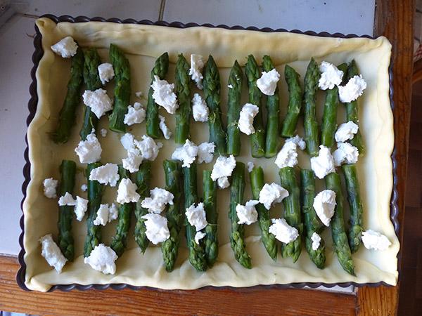tarte asperges 1