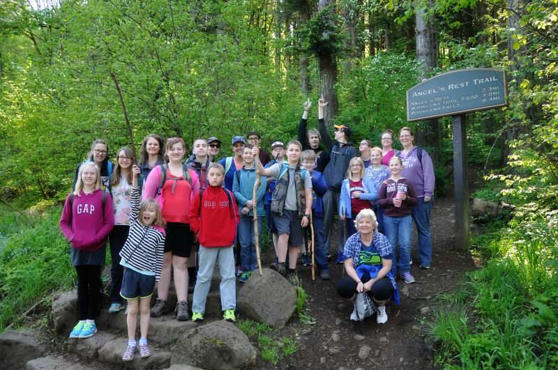 Angel's Rest Hiking Crew @ Mt. Hope Chronicles