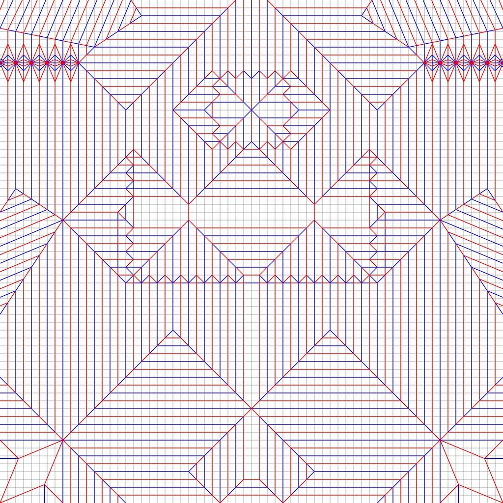 Origami Box Crease Pattern   Tutorial Origami Handmade - photo#20