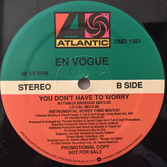 EN VOGUE:YOU DON'T HAVE TO WORRY(LABEL SIDE-B)