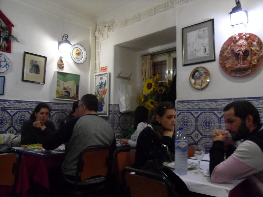 Typical Portuguese restaurant