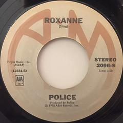 POLICE:ROXANNE(LABEL SIDE-A)