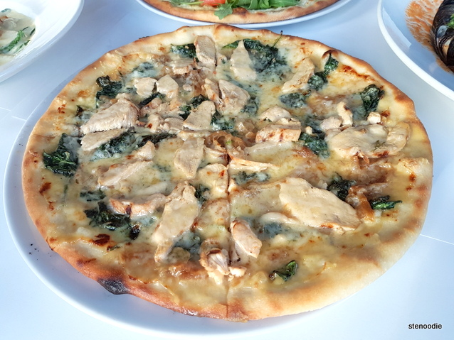 Pizza Pollo Asiago