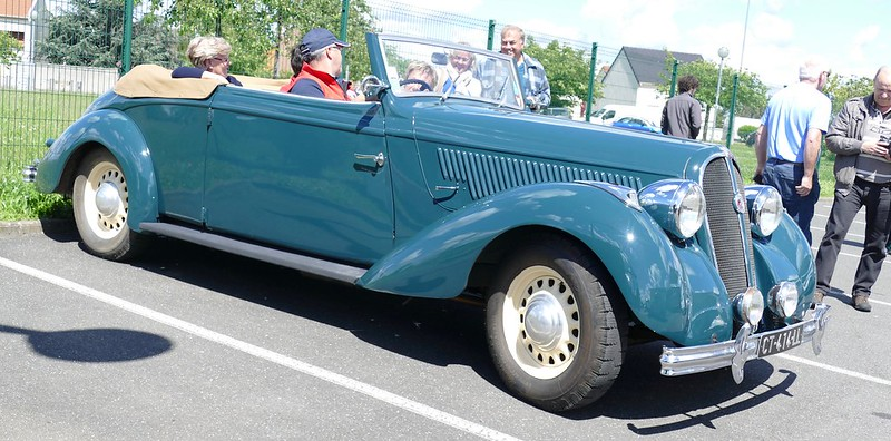 Hotchkiss cabriolet - Villabé (91) Mai 2017 33947673654_aabc66b295_c