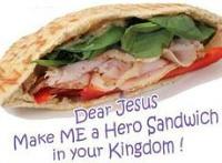 Make a Beatitudes Sandwich