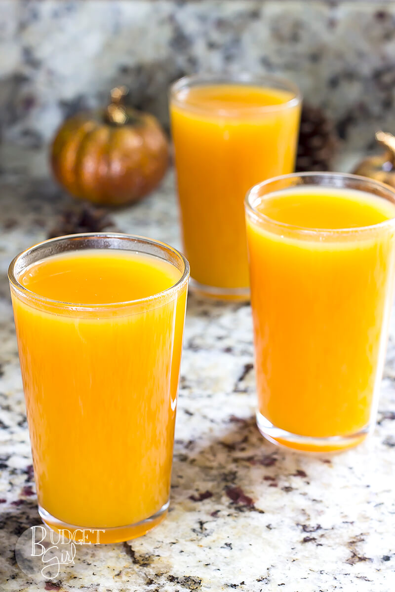 Harry Potter Pumpkin Juice