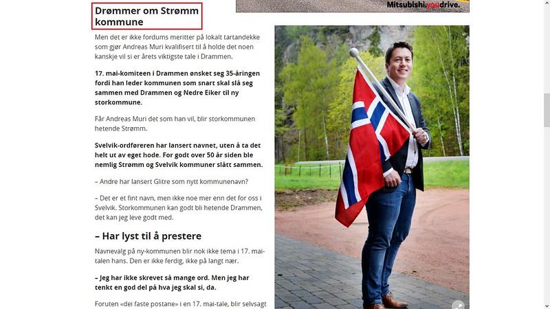 drømmer om strømm kommune