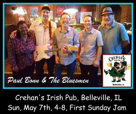 Paul Bonn & The Bluesmen 5-7-17