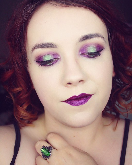 Poison makeup look - Big or not to big (2)