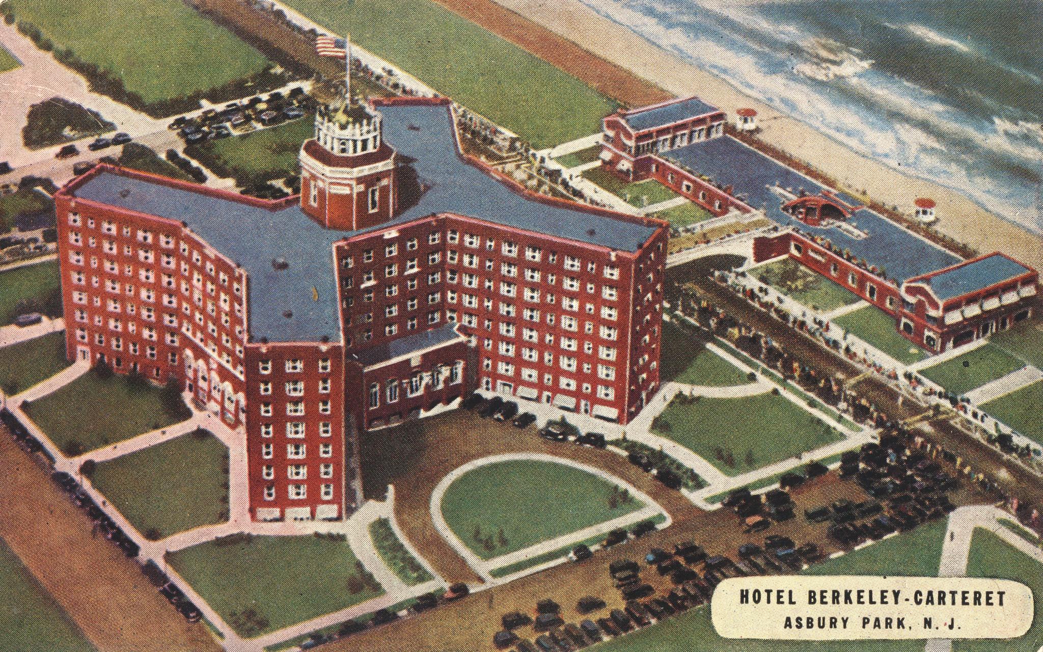 Hotel Berkeley-Carteret - Asbury Park, New Jersey