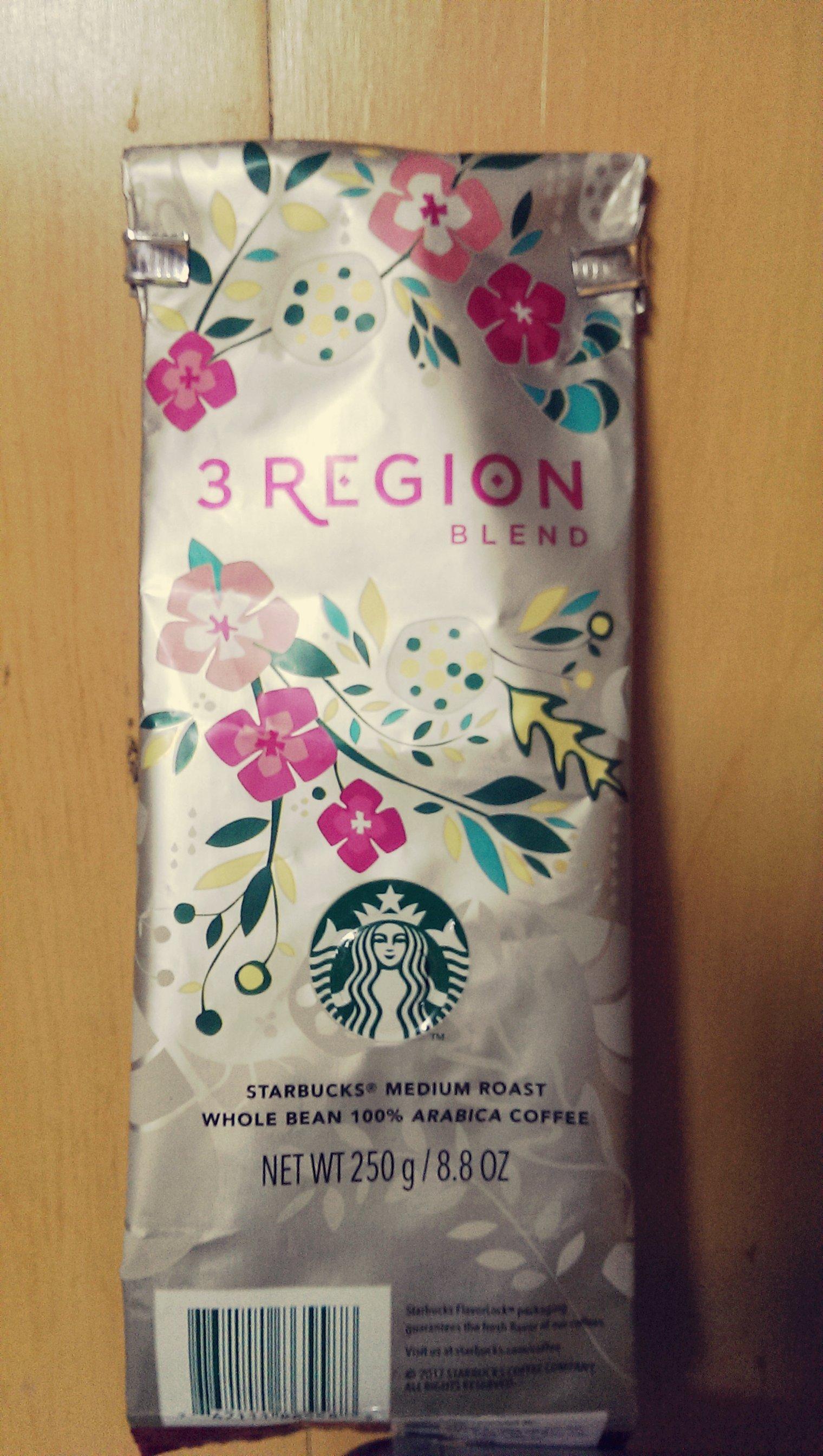 Starbucks 3 region