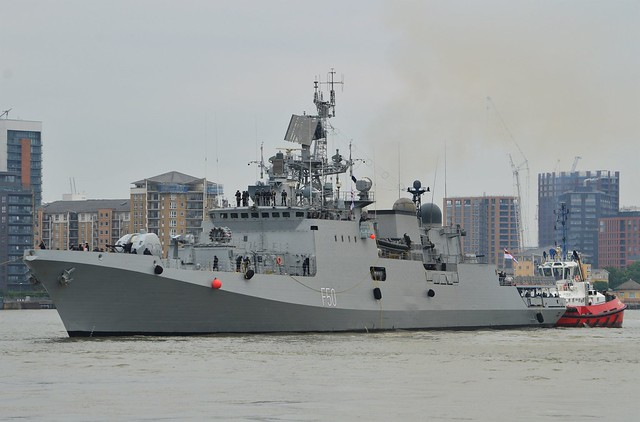 INS Tarkash F50 (2) @ West India Dock 07-05-17