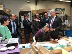 Visite de Laurent Wauquiez - 9 mai 2017