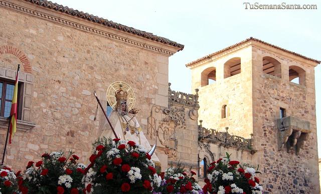 Subida de la Virgen de la Montaña al Santuario