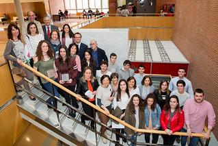 Acto de entrega de premios de la IX Olimpiada Española de Economía