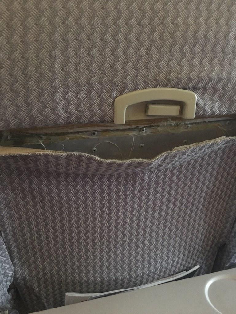 機艙破損狀況。(圖片來源:遠東航空企業工會提供)