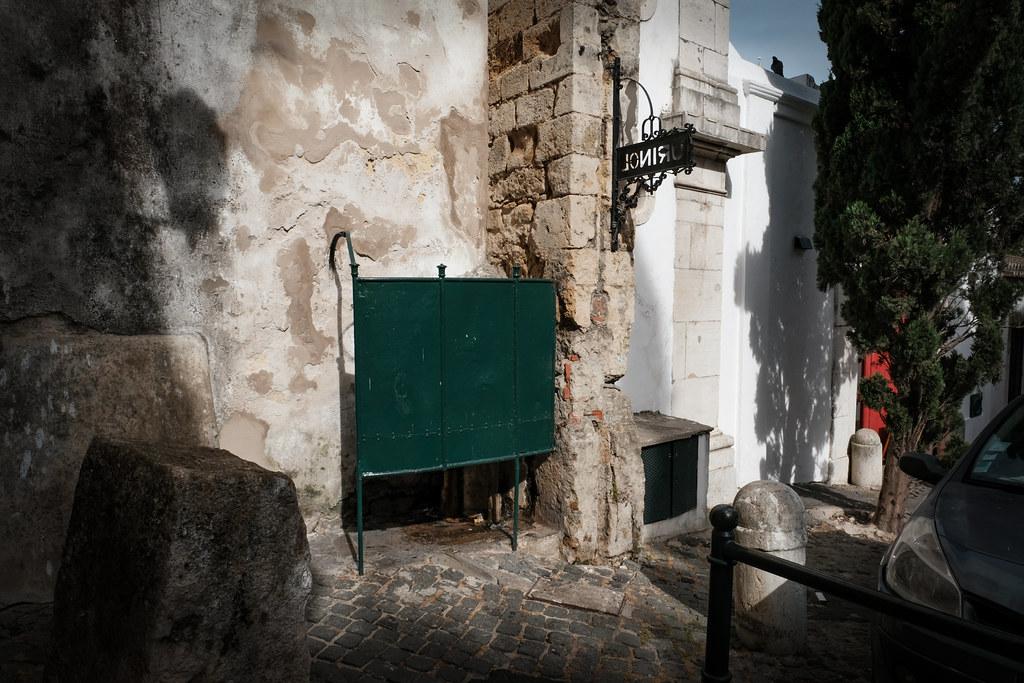 Antique street urinal, Lisbon | glynn wadeson | Flickr