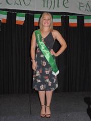 Olivia Hughes, representing the Canterbury Irish Society