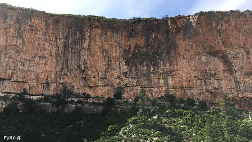 zona de escalada chulilla