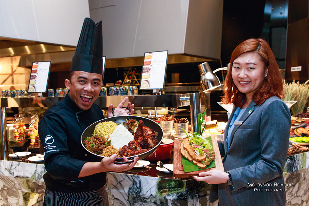 Element Kuala Lumpur Hotel ramadhan buffet 2017