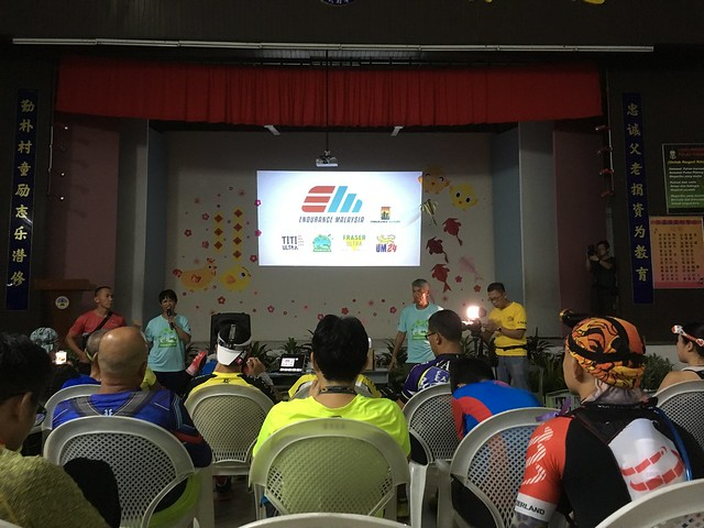 Penang ECO 100 race briefing