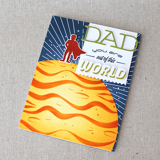 Out Of This World Dad Card 3