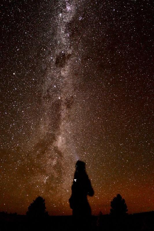 Sterne gucken macht am meisten Spaß ohne Zivilisation!