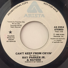 RAY PARKER JR. & RAYDIO:CAN'T KEEP FROM CRYIN'(LABEL SIDE-B)