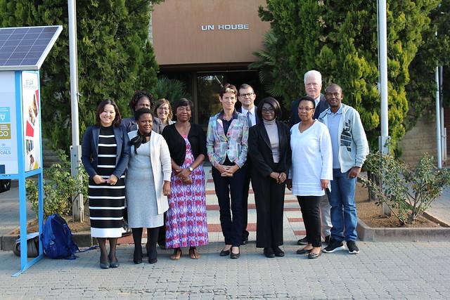Visita a Lesoto en 2017