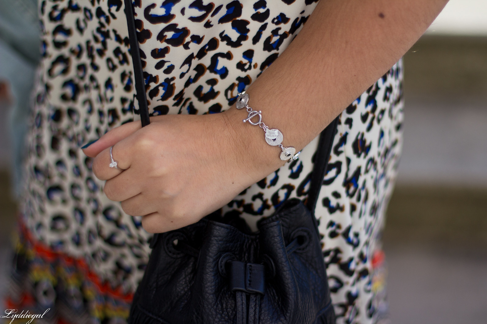 leopard print dress, denim jacket, moonstone jewelry-5.jpg