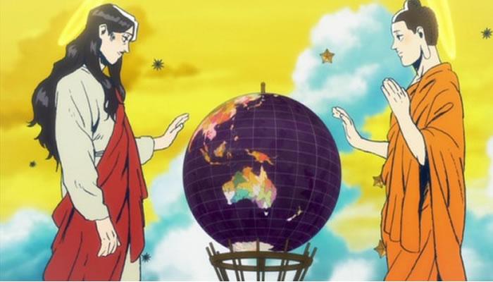 animes bizarros do tsukasa saint oniisan