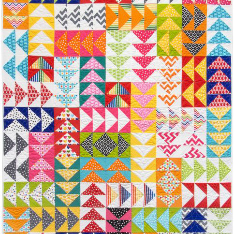 Remixed Geese Free Quilt Pattern