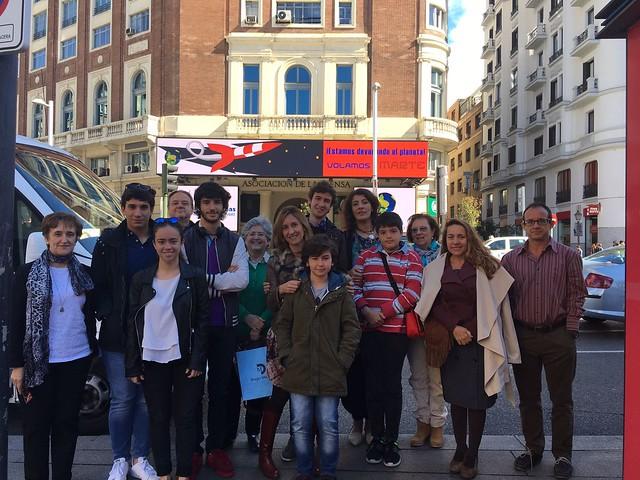 Paseando por Madrid