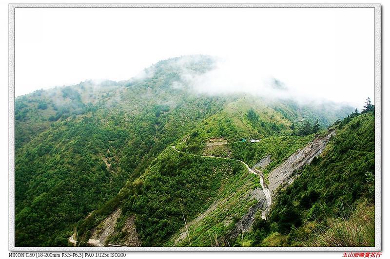 登山步道看麟趾山