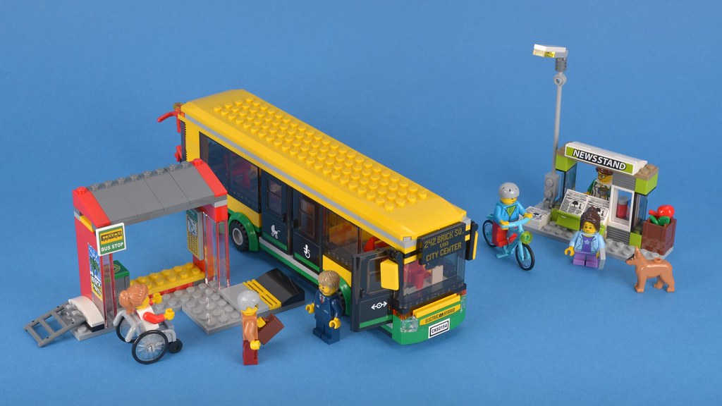 Review 60154 Bus Station Brickset Lego Set Guide And Database