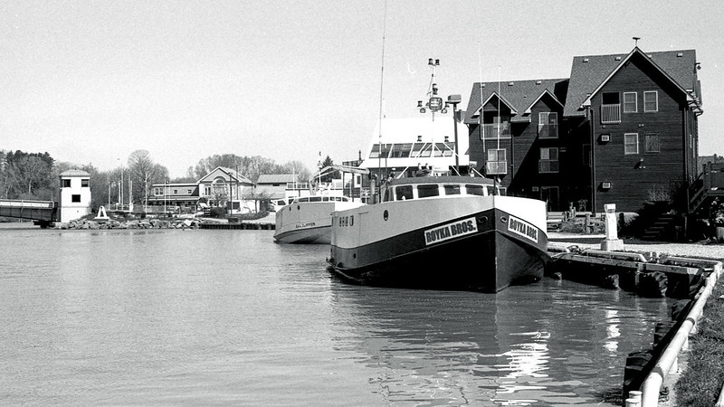 Lake Trawlers in Port Stanley