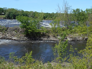 Connecticut River below the Holyoke dam